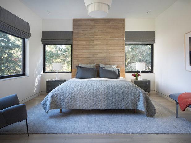Contemporary Bedroom by Stephanie Zaharias Design