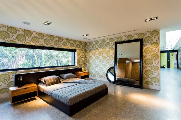 Contemporary Bedroom by Jasmine McClelland Design