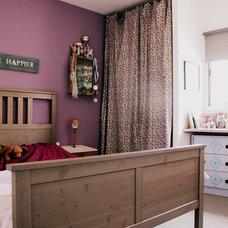 Eclectic Bedroom by Merav Sade Interior Design