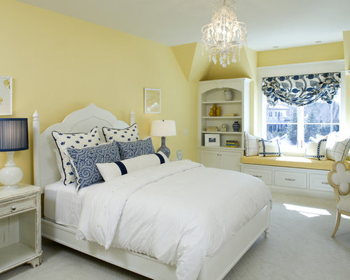 Yellow Walls Ideas Pictures Remodel and Decor – Yellow Walls in Bedroom