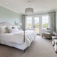 Transitional Bedroom by Hendel Homes