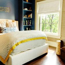 Transitional Bedroom by Soucie Horner, Ltd.