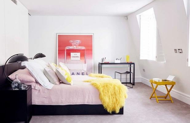 Contemporary Bedroom by annie stevens designs ltd