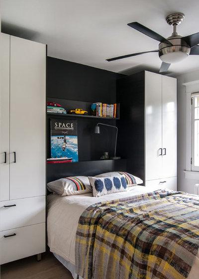 7 nachttisch-ideen für kleine schlafzimmer, Schlafzimmer design