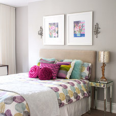 Contemporary Bedroom by Stephani Buchman Photography