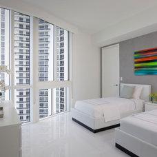 Modern Bedroom by Associated Design Co