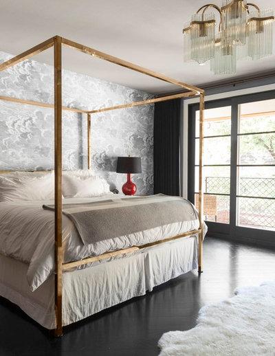 Trendy Soveværelse by Robert Elliott Custom Homes