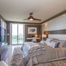 Contemporary Bedroom by GreenRose Enterprises
