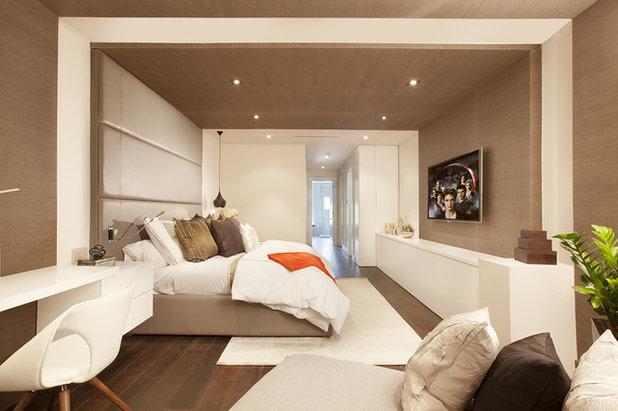 Contemporary Bedroom by DKOR Interiors Inc.- Interior Designers Miami, FL