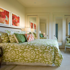 Contemporary Bedroom by Culbertson Durst Interiors
