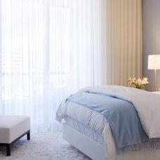 Contemporary Bedroom by Bruce Bierman Design