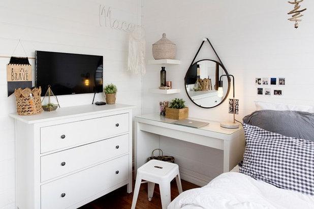 Scandinavian Bedroom by Lisa Atkinson Photographer