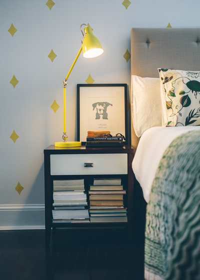Eclectic Bedroom by Residents Understood