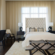 Modern Bedroom by Michael Molthan Luxury Homes Interior Design Group