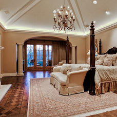Mediterranean Bedroom by MICHAEL MOLTHAN LUXURY HOMES