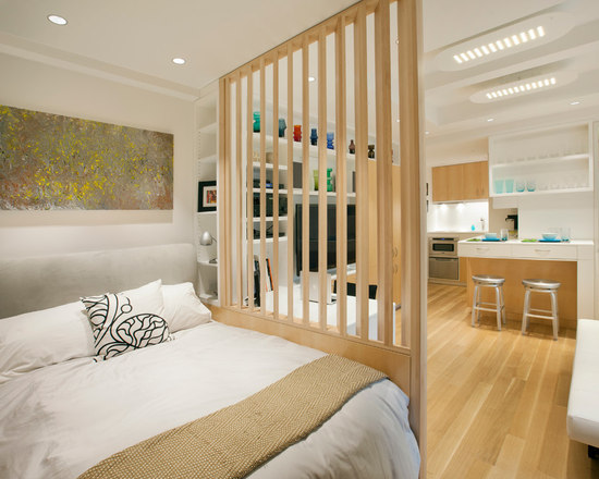 Apartment Room Partitions studio apartment room dividers | houzz
