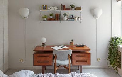 11 sätt att kombinera sovrum och arbetsrum