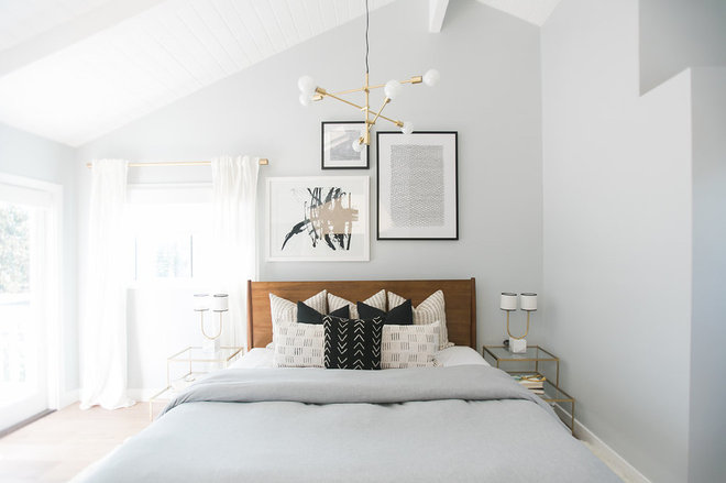 Scandinavian Bedroom by Lindye Galloway Design