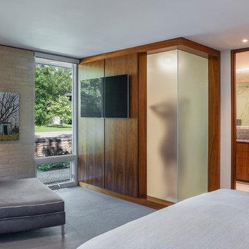 Mid Century Modern Home Renovation - Master Bedroom & Ensuite