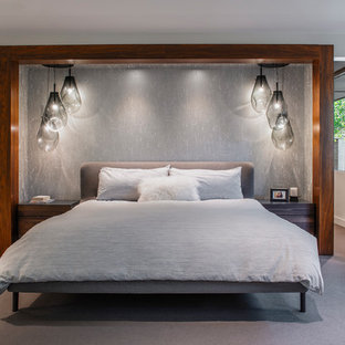 Mid Century Modern Home Renovation - Master Bedroom