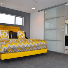 Contemporary Bedroom by Brion Jeannette Architecture