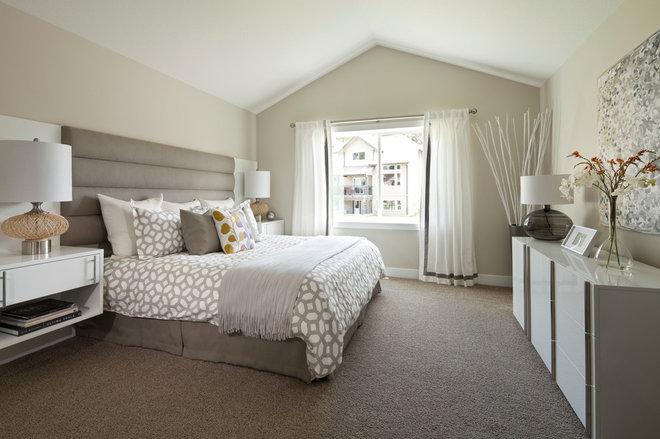 Transitional Bedroom by i3 design group