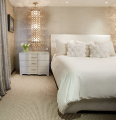 contemporary bedroom by Lori Gentile Interior Design