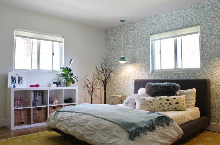 Midcentury Bedroom by Kimberley Bryan