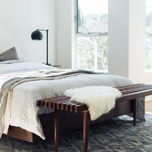 Foto på ett 60 tals sovrum