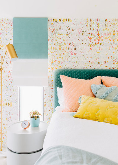 Contemporary Bedroom by Moss Melbourne