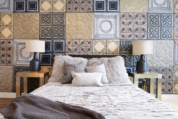 Eclectic Bedroom by Contour Interior Design, Inc.