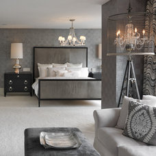 Transitional Bedroom by goodman charlton