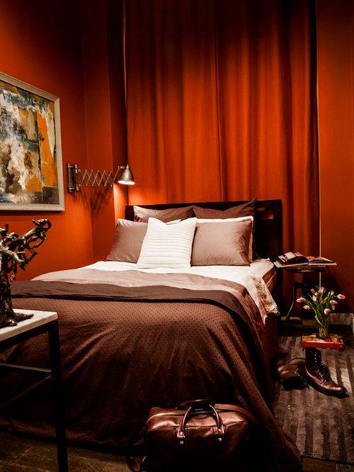 red bedrooms ideas   houzz