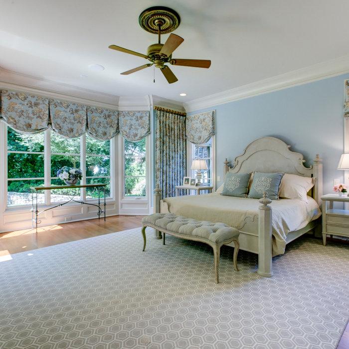 Midtown Raleigh Master Bedroom - 2017 VISION Award Winner