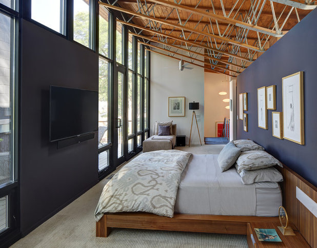 Stunning Contemporary Bedroom by Bruns Architecture