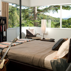 Modern Bedroom by Suzette Sherman Design
