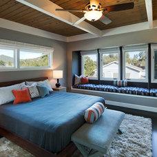 Contemporary Bedroom by Elena Calabrese Design & Decor