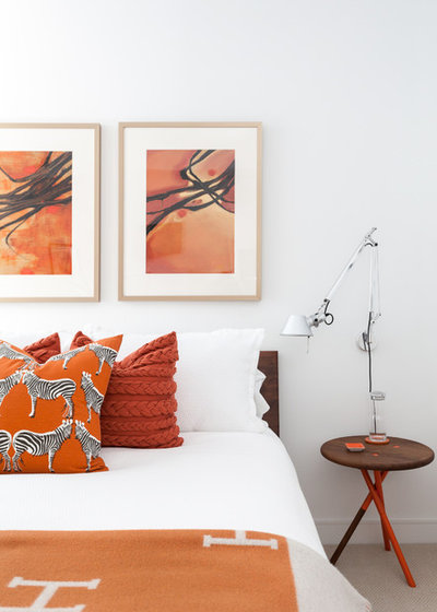 Contemporary Bedroom by cpopp workshop