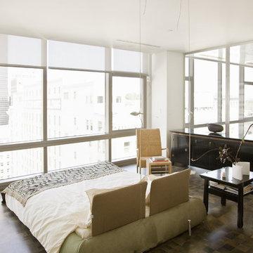 Millennium Tower Loft-Master bedroom