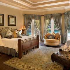traditional bedroom by Frankel Building Group
