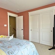 Craftsman Bedroom by Baldwin Homes, Inc.
