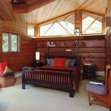 Eclectic Bedroom by Platt Builders
