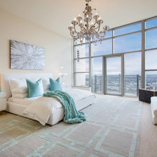 Contemporary Bedroom by Modern Rugs LA
