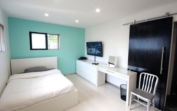osez le mur bleu pour une chambre rafraichissante - Chambre Bleu Vert