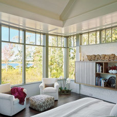 Transitional Bedroom by Breese Architects