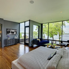 Contemporary Bedroom by Turnquist Design
