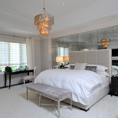 contemporary bedroom by Sherwood Custom Homes