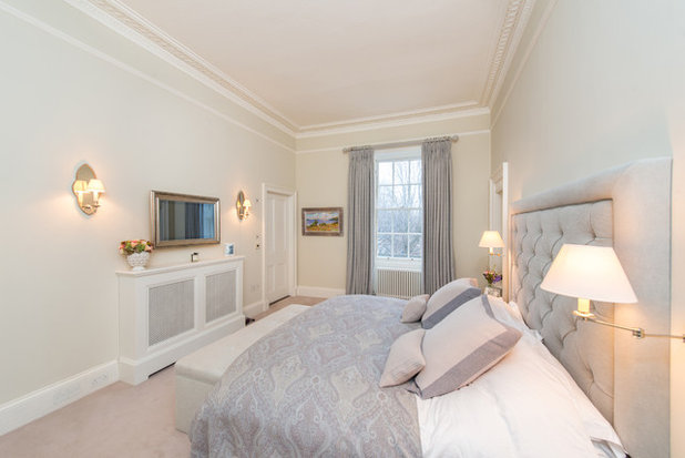 Contemporary Bedroom by PictureFrame.TV