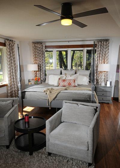 Transitional Bedroom by House Blend Lighting & Design