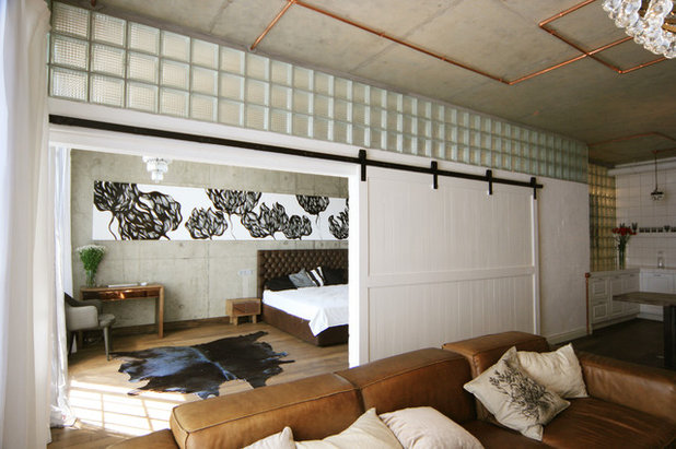 Industrial  Schlafzimmer by ARCHPOLE